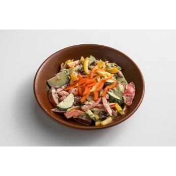 Pikantie baklažanu salati